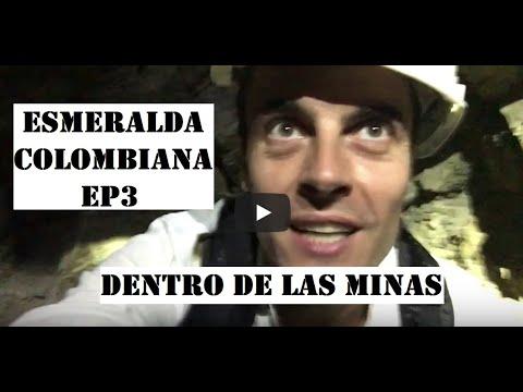 La ESMERALDA COLOMBIANA Ep3 - DENTRO DE LAS MINAS DE CHIVOR - Nicols Buscando Tesoros COLOMBIA