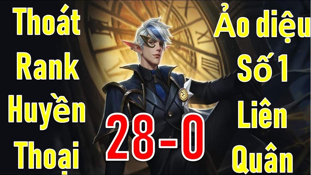 Chơi đùa team bạn cay cú 28 - 0 với vị tướng ảo diệu nhất game Liên quân