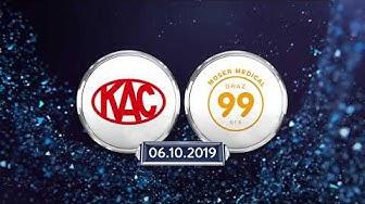 Highlights: Erste Bank Eishockey Liga, 8. Runde: EC KAC - Graz 99ers 5:1