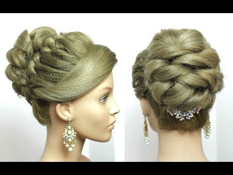 Bridal Prom Hairstyle For Long Hair Tutorial