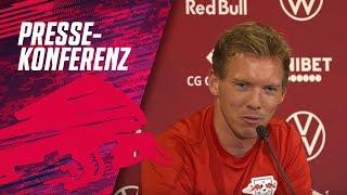 Re-Live: Die Pressekonferenz vor dem Topspiel gegen Bayern München!
