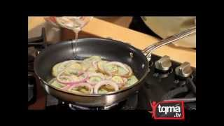 Chuletas de Cerdo con Papas y Cebolla – Receta
