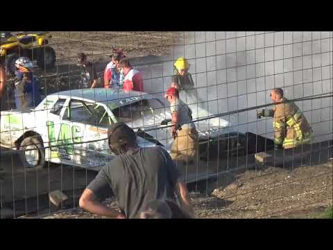 Wagner Speedway Wrecks & Wipe-Outs 7-26-19