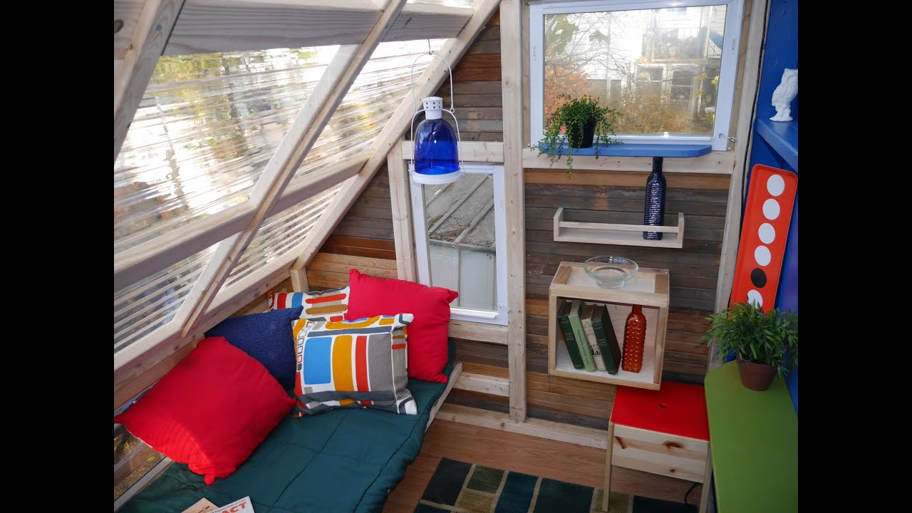 Tree House Boston Ma A Micro Office Cabin Tiny House In