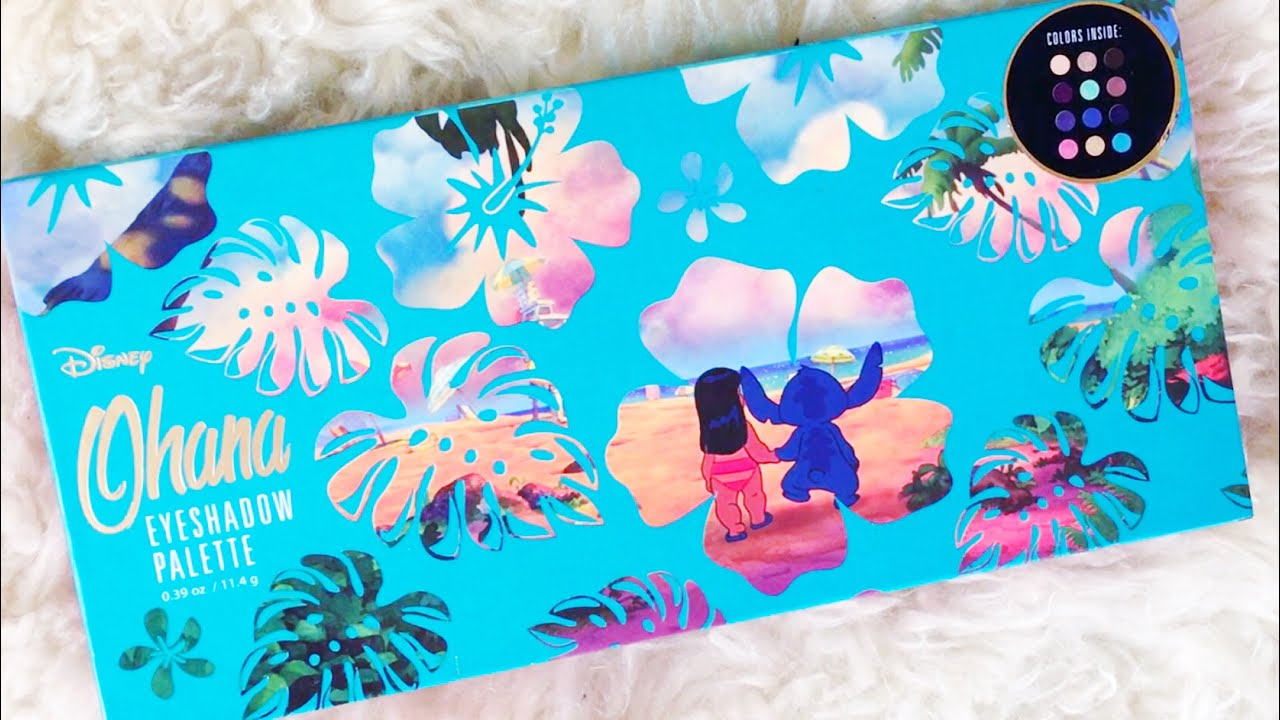 Disney S Lilo And Stitch Eyeshadow Palette Hot Topic Makeup
