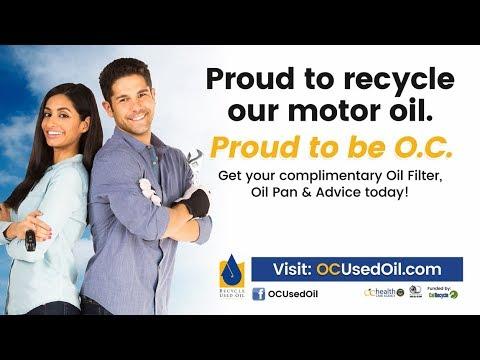 Used Oil (Orange County, CA)