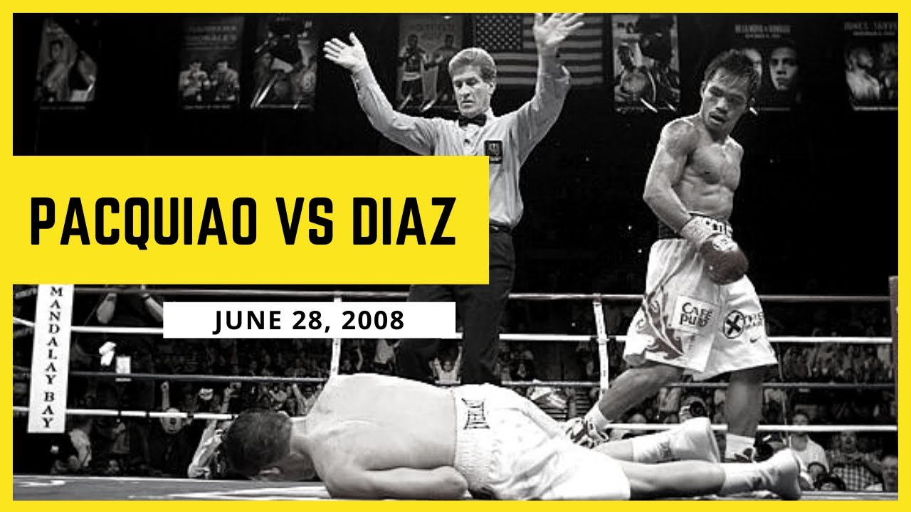 MANNY PACQUIAO vs DAVID DIAZ | Full Fight | June 28, 2008