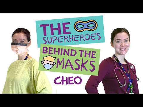 Superheroes Behind The Mask: Personal Protective Equipment (PPE) For Kids
