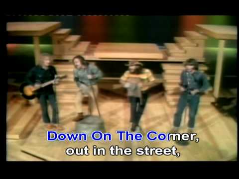 Creedence Clearwater Revival- Down On The Corner lyrics