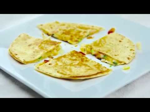 EASY CHEESE QUESADILLA A HEALTHY SNACKS IN 10 MINS