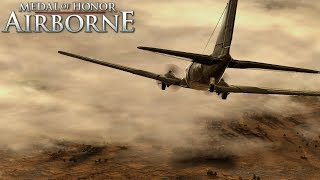 Medal of Honor Airborne Xbox 360  / Xbox One Walkthrough Operation Husky Part 1