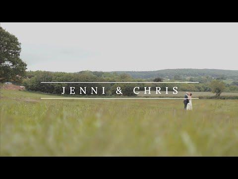 Jenni & Chris&39; Wedding Teaser  Country Barn Wedding  Quantock Lakes