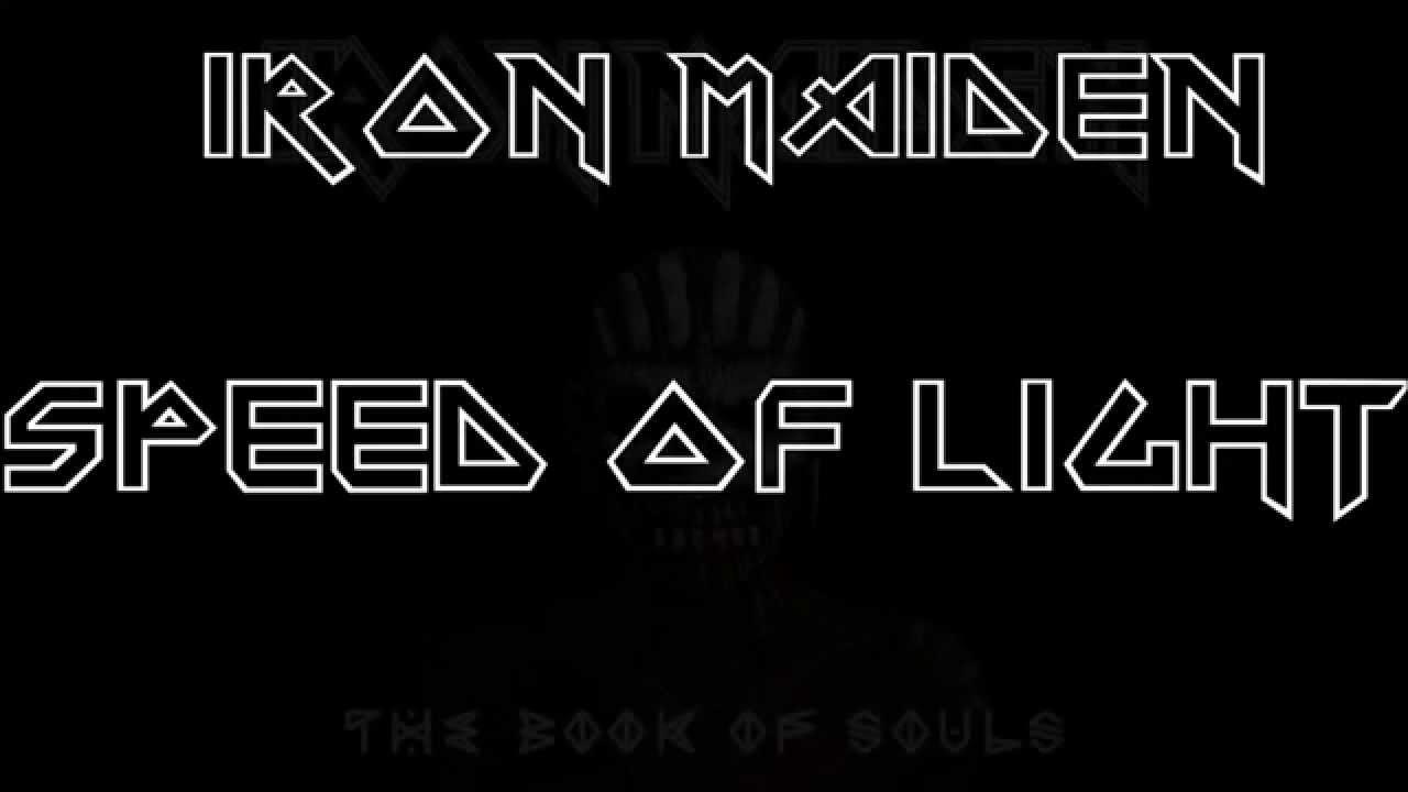 719d7695c757 Iron Maiden - Speed of Light (HQ/HD) - YouTube