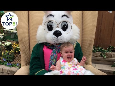 The Top Easter Photos Gone Wrong - Bad Bunnies!