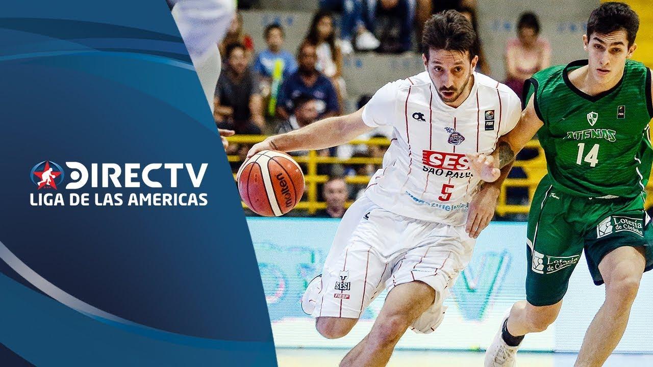 SESI/Franca vs. Atenas - Resumen - Semifinal 1