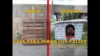 COMO HACER Casa Para Perro//HOW TO MAKE DOG HOUSE