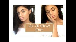 Go-To Summer Glowy Glam (idk) Makeup Tutorial