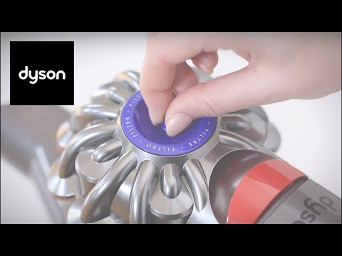 How to clean your Dyson V8™ cordless vacuum's filters