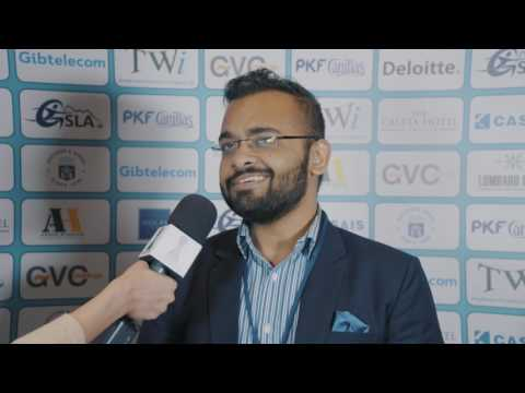 Round 2 Gibraltar Chess post-game interview with Abhijeet Gupta