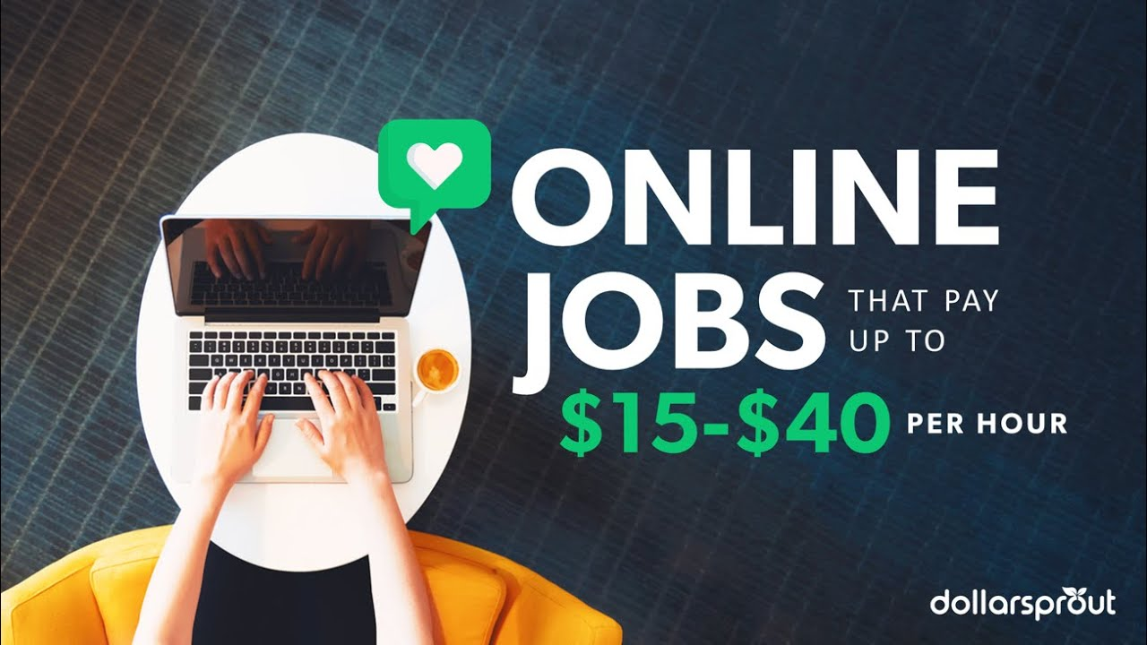 28 Legit Online Jobs That Are Easy Flexible And Profitable