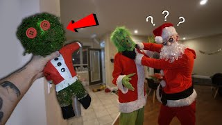 DO NOT MAKE A GRINCH VOODOO DOLL AT 3AM!! *HE CAME AFTER US*