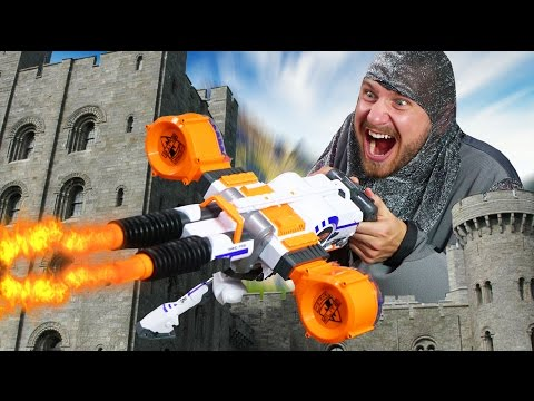 NERF Defend your Castle Challenge