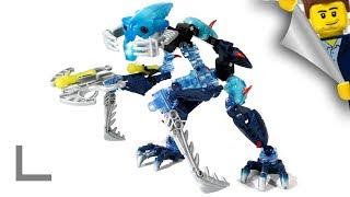 Обзор набора Lego Bionicle #8916 Барраки Такадокс (Barraki Takadox)