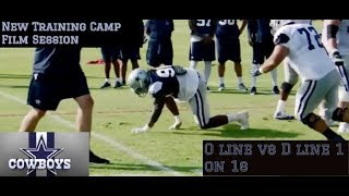 Dallas Cowboys Training Camp Highlights Part 2 || D Law Calls Out Entire O Line || OL vs DL
