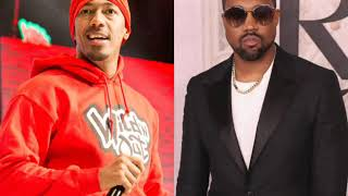Nick Cannon and Kanye West handle their beef like men