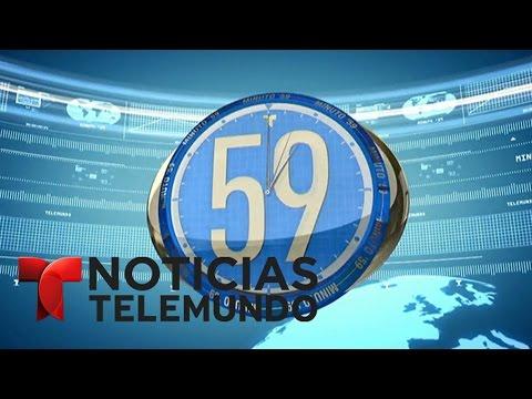 Minuto 59, miércoles 22 de marzo del 2017 | Noticiero | Noticias Telemundo