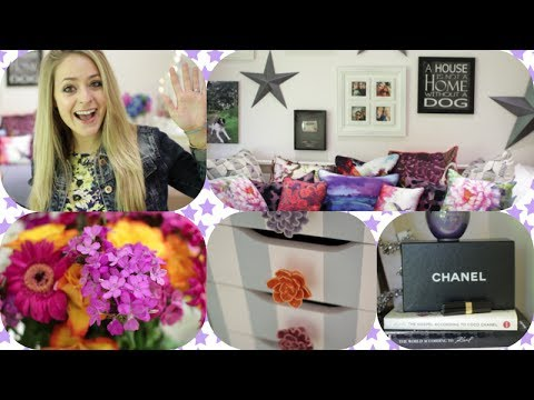 Home Tour Pt 2: New Makeup Room/Office | Fleur De Force ...