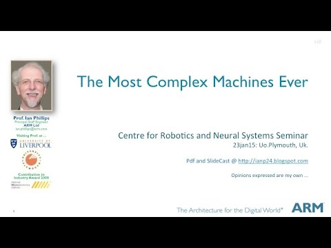 The Most Complex Machines Ever - @UoPlymouth