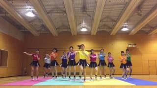 恋ダンス × チアリーディング