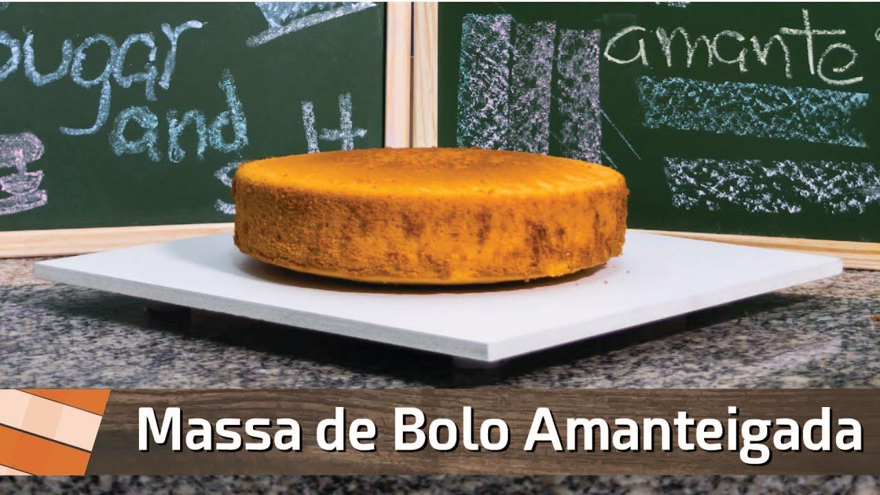 Cake Decorating Company Massa : Cake Design #01 Massa de Bolo Amanteigada - Como Fazer ...