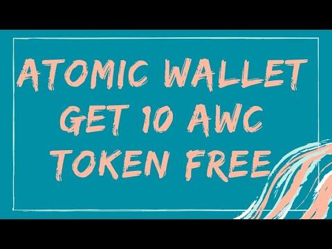 ATOMIC WALLET - Получите 10 AWC Token Free / Вывел очередные 15$ / Криптовалюта бесплатно / Crypto