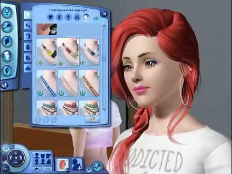 Создаем персонажа девушку в Sims 3