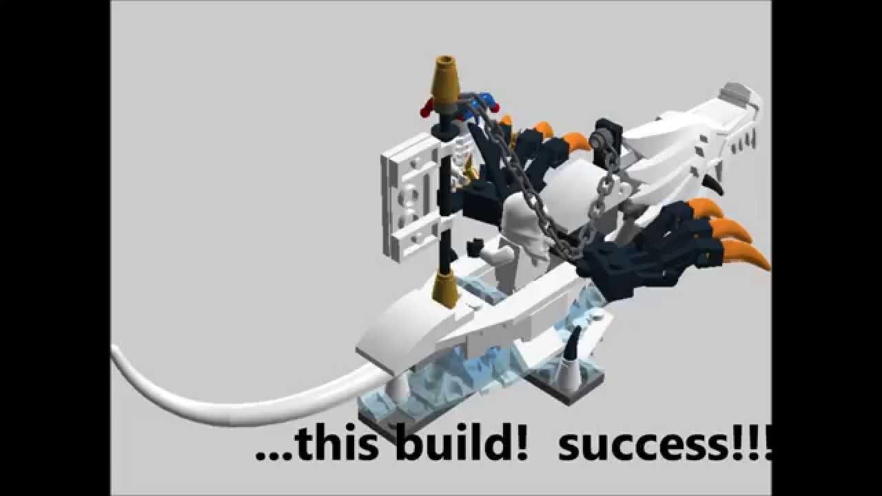 Lego Ice Dragon Building Instructions