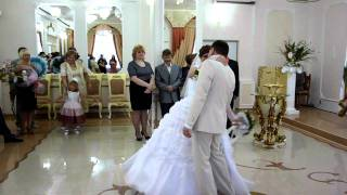 танец в ЗАГСе Евгений и Виктория