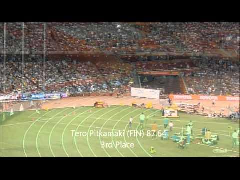 Mens Javelin Final