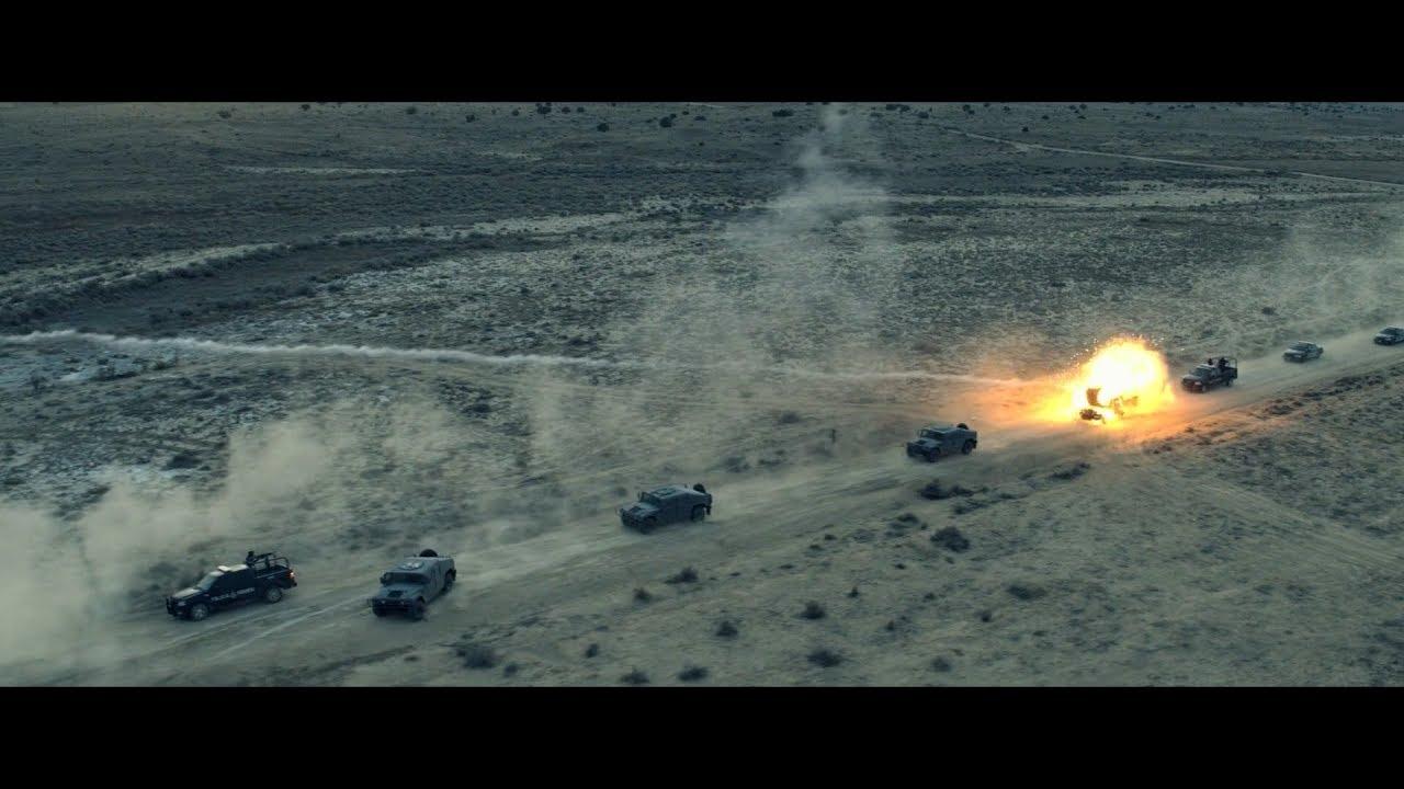 Sicario 2 convoy ambush (1080p 60fps smooth)