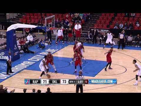 Game Highlights: Raptors 905 (92) Lose to Oklahoma City Blue (101) Feb 6th 2016