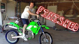 $200 Kawasaki Dirt bike - TRANSFORMATION COMPLETE