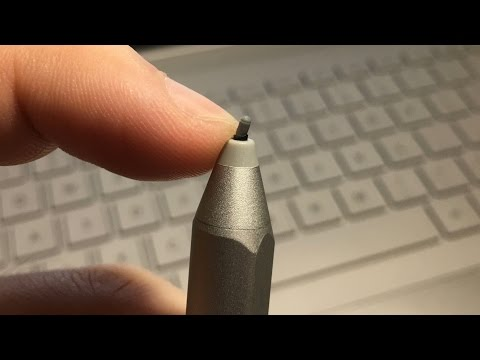 DIY: How to replace broken tip on Surface Pen (Gen2) from YouTube · Duration:  1 minutes 52 seconds