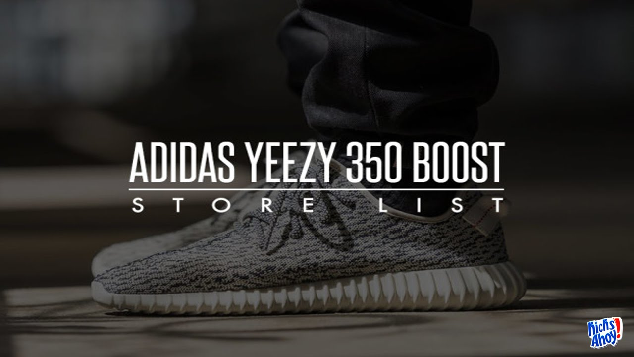 fe65868d5de ... wholesale adidas yeezy 350 boost store releasing list youtube a05ab  c7307