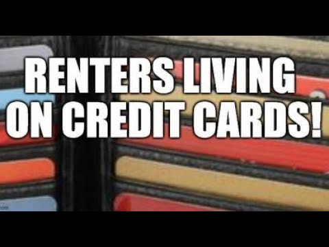 RENTERS LIVING ON CREDIT CARDS!! BROKEN ECONOMY OF DEBT, POWER BILLS RISE, FINANCIAL BUST STRIKES