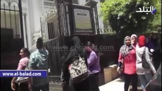 بالفيديو والصور.. 'طلاب الأدبى بالدقهلية: 'التاريخ صعب '
