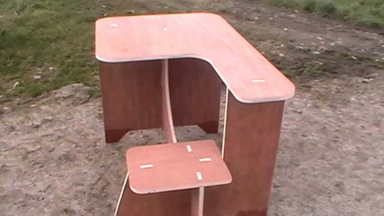 Portable Shooting Bench Youtube