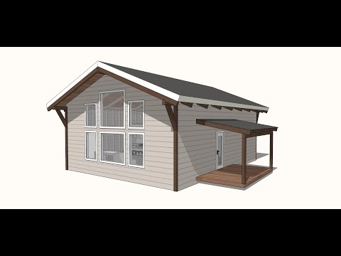 Week 1: Simple House Build - Design, Foundation, Floor Framing