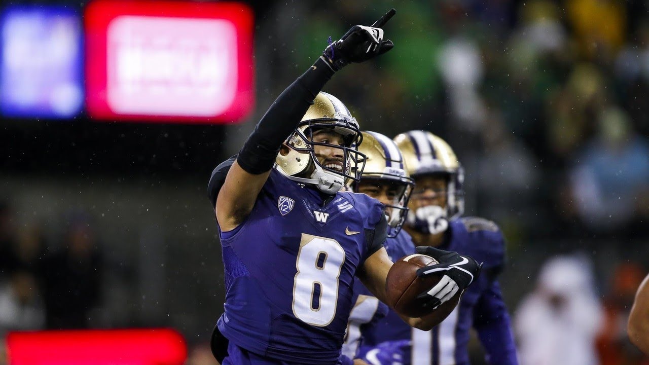 26824f5aa Highlight  Watch all nine of Dante Pettis s career punt returns for a  touchdown
