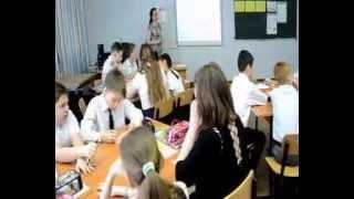 Видеофрагменты открытого урока литературы в 4 классе. Учитель: Зуборева Е. В.